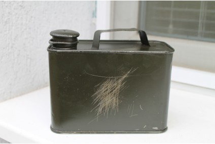 Original German WWII WW2 MG34 Tin Oil Can