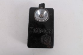 Original WWII German Daimon Flashlight Torch.