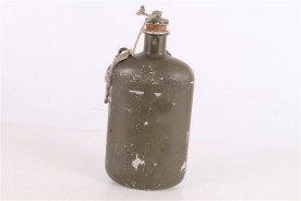 Original WWII Tin Soldiers Water Canteen.