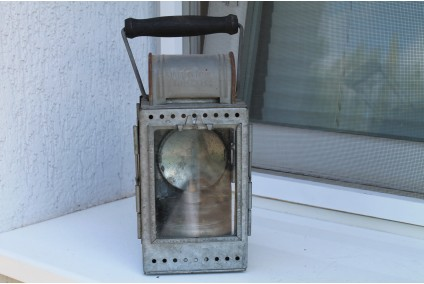 Old Rare German Army Lantern WWI WWII